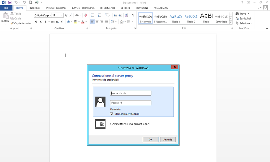 Office 2013 proxy authentication