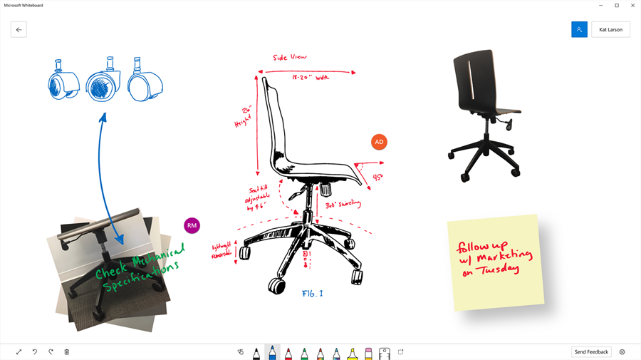 Microsoft Whiteboard app in preview