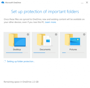 Migra i tuoi file su OneDrive con Known Folder Move