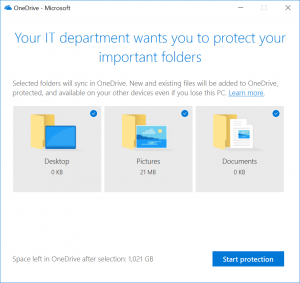 Migra i tuoi file su OneDrive con Known Folder Move group policy