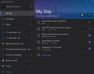 Grandi news per Microsoft To-Do