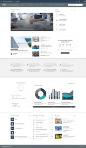 SharePoint Look Book - Intranet Homepage