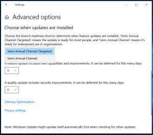 Microsoft cambia i Windows Update per i clienti Business