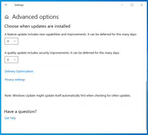 Microsoft cambia i Windows Update per le opzioni Business