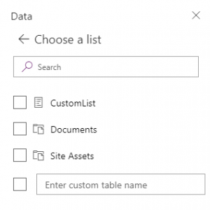 PowerApps: supportate le Document library di SharePoint Online