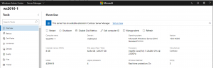 Annunciata la Preview di Windows Admin Center1903