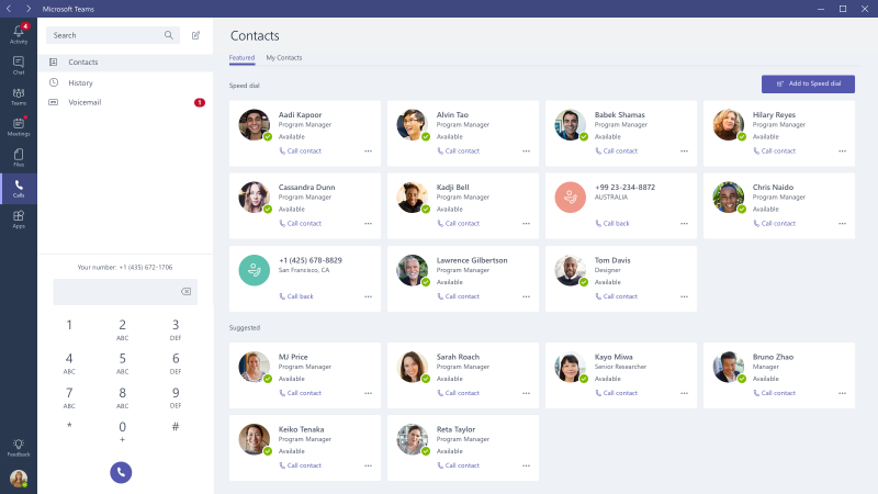 Microsoft Teams Calling Plans